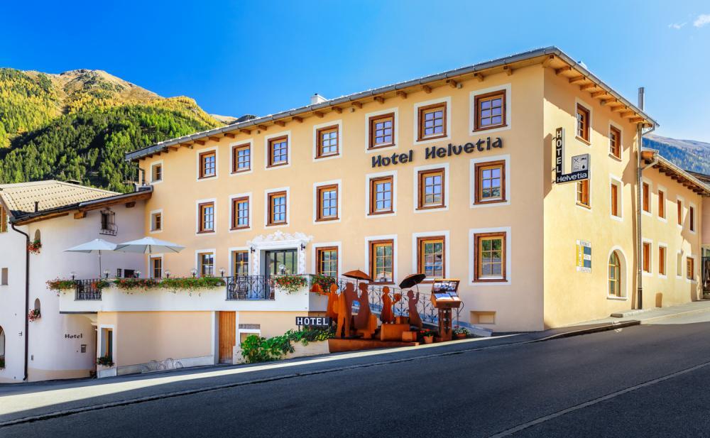Hotel Helvetia in Müstair