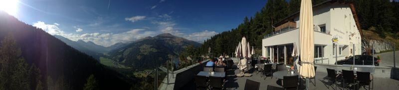 Gasthaus Alpenrose Terrasse